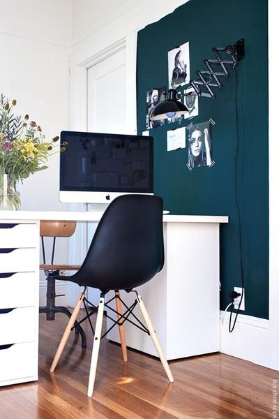 Quelle couleur choisir pour votre bureau si ges et compagnie - Couleur mur bureau maison ...