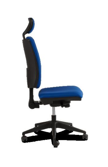 Chaise de bureau ORION - Synchrone avec Tetière