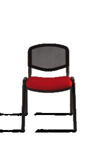 Chaise visiteur TAURUS Filet