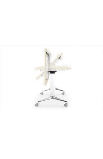 Table rabattable livrée semi montée 120 x 70 cm - Gamme NET