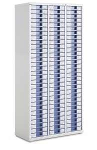 Armoire 3 colonnes ASP666E sans serrure