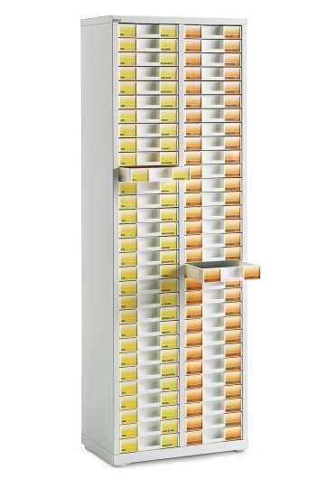 Armoire 2 colonnes ASP66E avec serrure