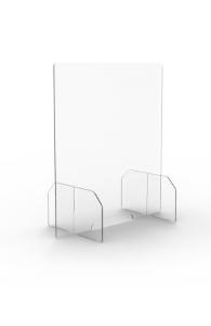 Ecrans de protection en plexiglas - Idéal pour les établissements recevant du public