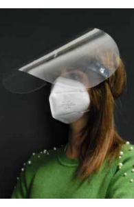 Visière de protection anti-projections - Amovible