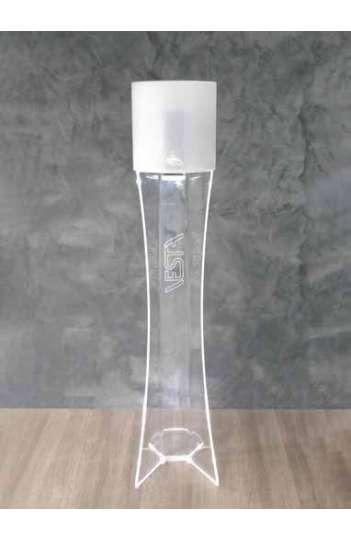 Distributeur automatique de gel hydroalcoolique sans contact avec éclairage led