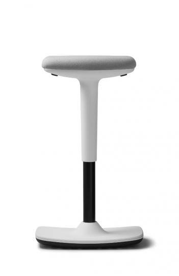 Tabouret assis debout ergonomique Swift - Structure blanche