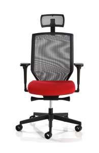 Fauteuil de bureau ergonomique - AIR SKY C35 avec tetière
