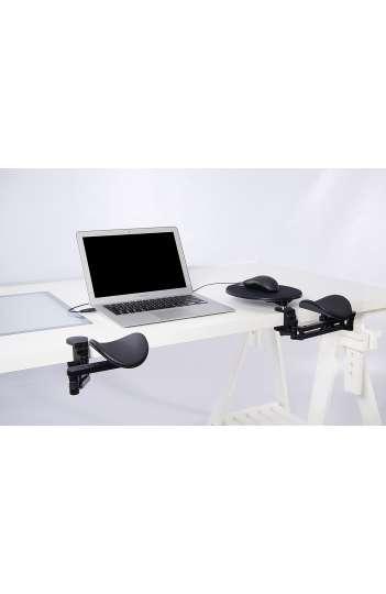 Repose bras noir ergonomique articulé - Ergorest 330.000
