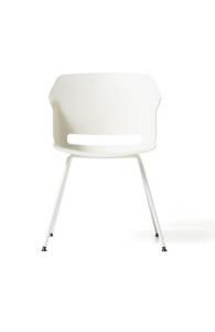 Chaise design 4 pieds laqués - POLCA