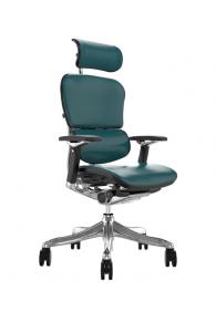 Fauteuil de bureau ergonomique Humanergo - Luxe / Cuir