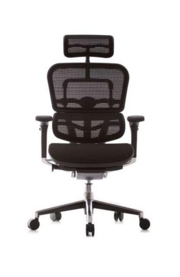Fauteuil de bureau ergonomique Humanergo - Classique / Assise Tissu et Dossier Maille KMD