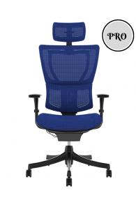 Fauteuil de bureau ergonomique MIRUS PROJECT - Base Noire / Tissu KMD