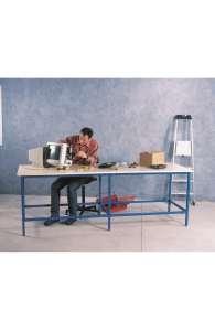 Paillasse / plan de travail 2500 x 800 hauteur 1000 mm