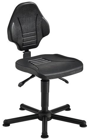 chaise atelier polyur thane pour personne forte maxi 150 kgs sur patins chaise atelier personne. Black Bedroom Furniture Sets. Home Design Ideas