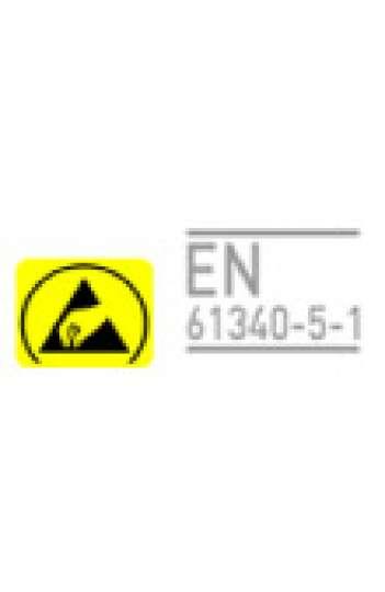 Repose pieds  EFS 90-ESD antidérapant hauteur et inclinaison réglable