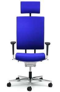 Fauteuil de bureau ergonomique - SCOPE de Viasit - capitonné + Options