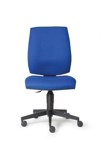 Chaise de bureau, Contact Permanent MEK FLUTE tissu