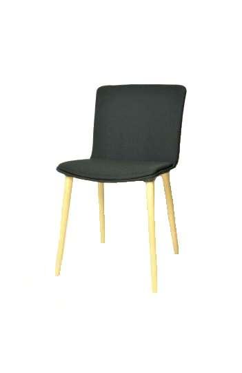 Chaise polyvalente 4 pieds Glove de Forma 5 Pietement BOIS Hêtre  SGL73200B