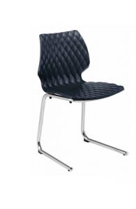 Chaise visiteur à assise suspendue - UNI 565