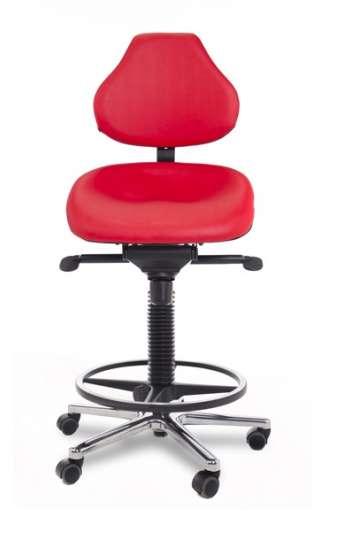 Siège assis-debout gamme Swing - Dossier haut