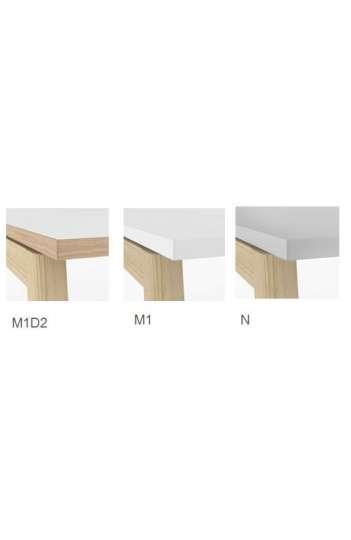 Bureau Bench MARINE WOOD - 160 cm par 164 cm - Hauteur 74 cm Ref : MARDNS162W