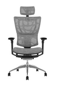 Fauteuil de bureau ergonomique MIRUS HAM - Base noire - Tissu ZB Mesh