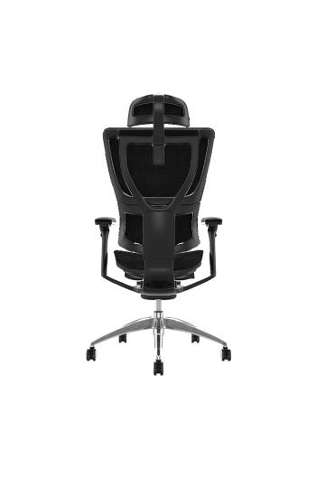 Fauteuil de bureau ergonomique MIRUS HAM - Base noir - Tissu ZB Mesh