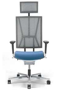 Fauteuil de bureau ergonomique - Scope de Viasit - maille + Options