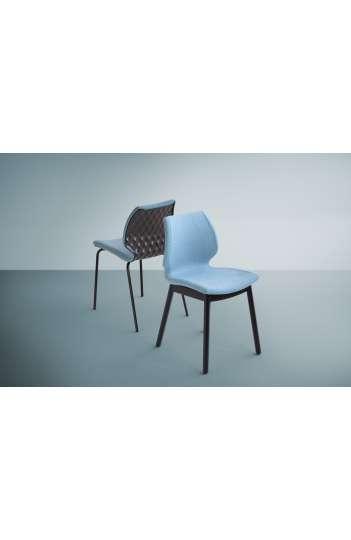 Chaise design Uni capitonnée - UNI550M