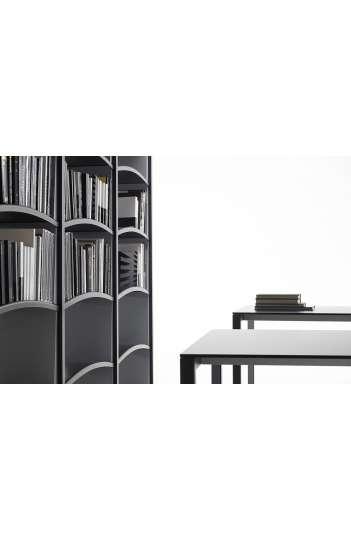 Bibliothèque BOOKCASES colonnes doubles - 5 étagères