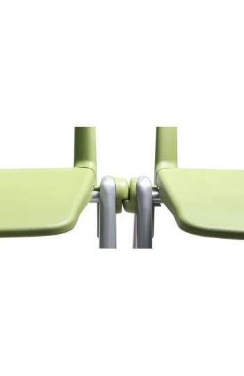 Chaise de collectivité RAVE - Pietement chromé