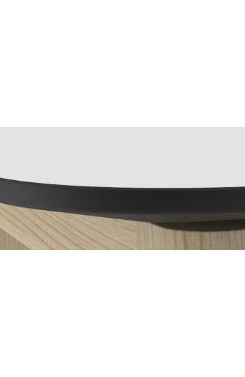 Table haute plateau ailes d'avion  - MARINE WOOD 180 x 70 cm
