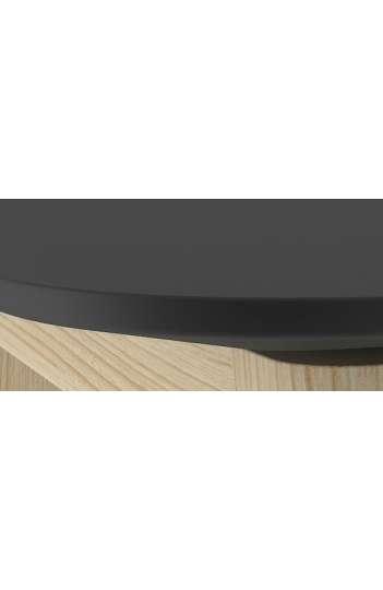 Table haute plateau ailes d'avion - MARINE WOOD 160 x 70 cm