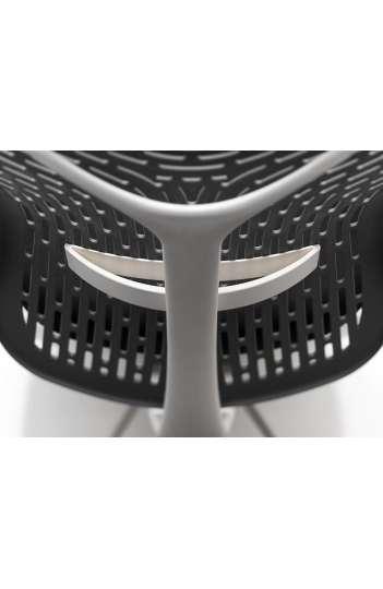 Siege ergonomique - FLEXA structure blanche